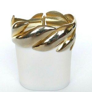 Vintage Gold-tone Cuff Bracelet
